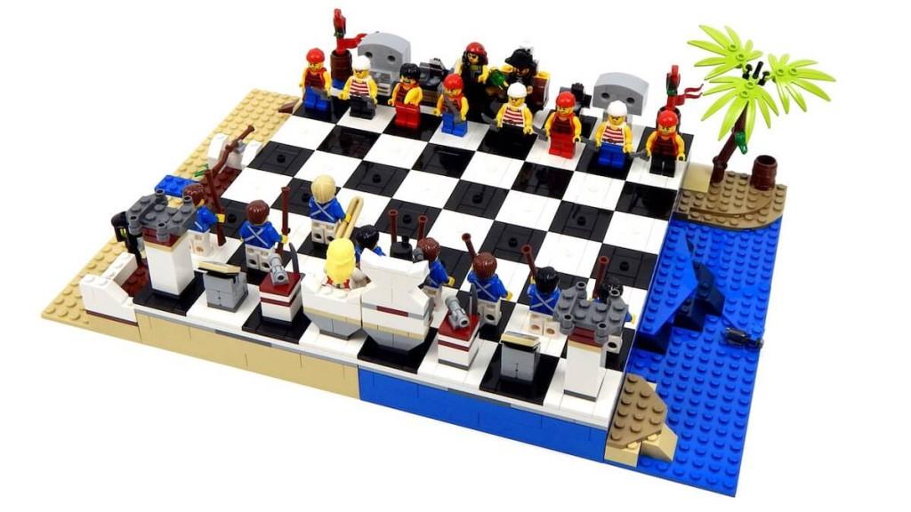 Szachy, gdzie pionkami są figurki Lego