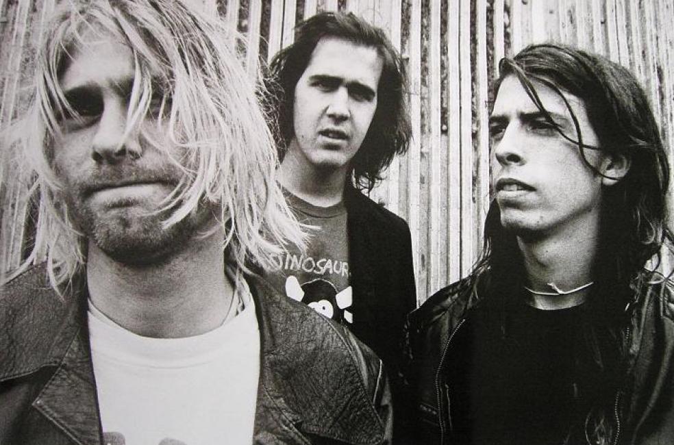 Członkowie zespołu Nirvana