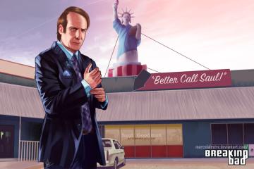 Saul Goodman z serialu Better Call Saul