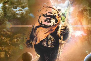 Ewok, stwór z Gwiezdnych Wojen przypominający małego misia
